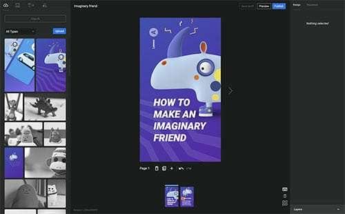 Google Web Stories WordPress Eklentisi Ekran Görüntüsü