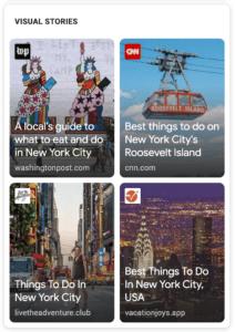 Google Web Stories Ekran Görüntüsü