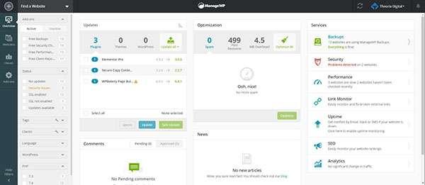ManageWP Worker - En iyi ücretsiz WordPress eklentisi
